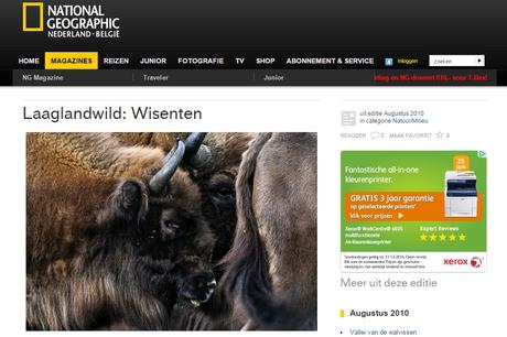 Website National Geographic