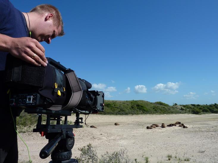 Opnames TV Buitengewoon in het Kraansvlak. Foto: Twan Teunissen
