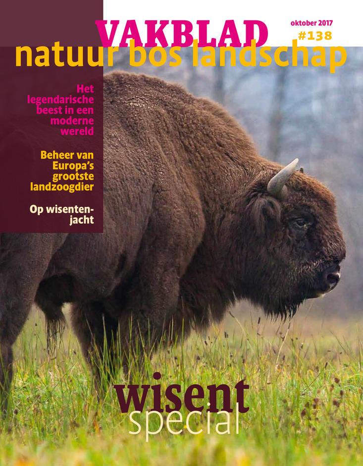 Vakblad Natuur Bos Landschap, wisentspecial